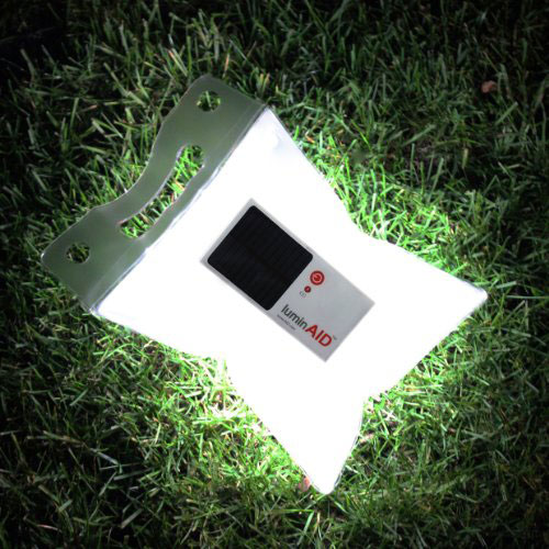 illuminated-LuminAID-Solar-Lights-