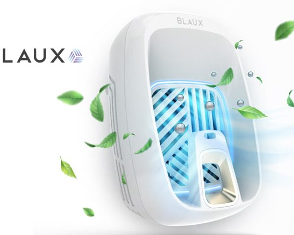 Blaux In Home Air Purifier: Ionizer with Activated Charcoal Filter