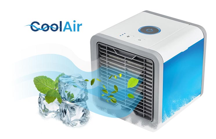 CoolAir: Portable Personal Cooler Fan to Purify and Humidify Air?